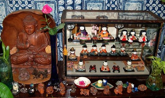 The doll collection of Keiko (Kamioka) Schumacher